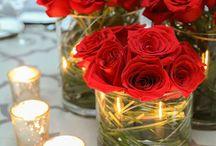 czerwone róże ślub