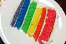 Rainbow Cake (Super Easy)