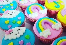 Cloud Party / Festa bébé colorida