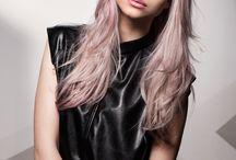 Pastell Pinke Haare