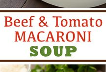 Soups / Soup and more soup