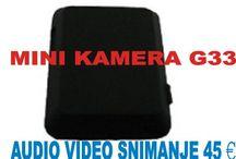 Namenske mini kamere dugotrajnog snimanja.