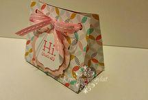 2016 Gift Bag Punch Board