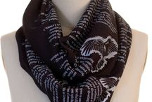 Awesome Book Scarves!