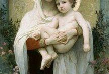 virgen y el niño