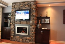 Calgary Installations / An Inside Look To Some Of Our Calgary Fireplace Installations / by Valor Fireplaces