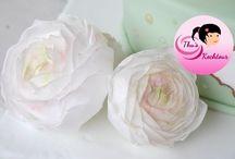 Цветы вафельная бумага
