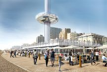 British Airways i360 - Entrance Matting / The British Airways i360 is a project designed by Marks Barfield Architects​ who also designed the London Eye​. The i360 is a vertical cable car and it has been constructed on the Brighton seafront and gives a panoramic view of the Sussex coastline and countryside. Our elegant and robust commercial entrance matting will be welcoming the guests tomorrow in the visitor and hospitality centres.