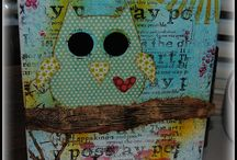 Owl Room Decorations / by Colleen Hollis 2tinytreasures