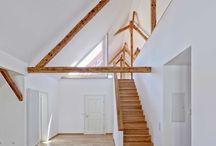 Sichtbarer Dachraum