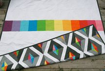 Colour Block Quilts / by Vanessa Wilson