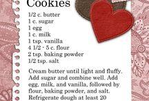 Biscuits/Cookies / Bikkies!