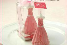 wedding candle / Cute wedding candle