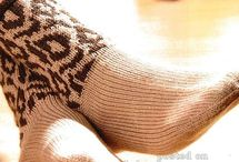 варежки. носки