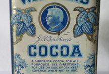 Vintage Watkins tins