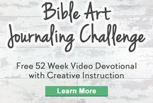 Bible Art Journaling 2017