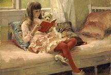 Reading on