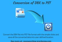 Conversion of DBX to PST