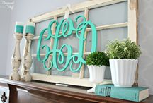 Mantel Ideas / by Courtney Carmean (A Diamond in the Stuff)