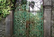 wrough iron gates
