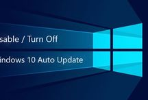 Disable / Turn Off Windows Automatic Updates in Windows 10