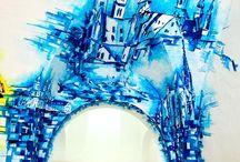 Stěnomalba / Art Umění Stěnomalba Stěna