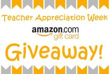 Teacher Appreciation / My Education Discount is giving away Amazon Gift Cards during Teacher Appreciation Week at http://www.myeducationdiscount.com/giveaway.htm / by My Education Discount