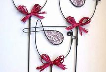 ornaments made of wire