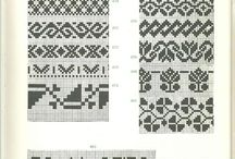 strikkemønstre, knittng patters