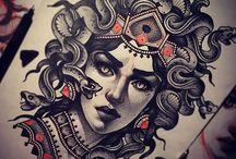 Female drawings