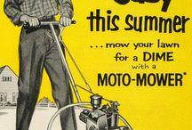 Vintage weird advertising