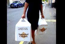 Пакет-майка #T-shirt #bag