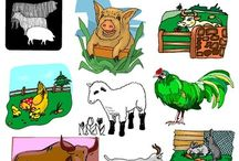 Farm Animals Clipart MEGA Set - Commercial Use / Farm Animals (A-Z) Clip Art MEGA Set - Commercial Use. WELCOME to this STUNNING collection of Farm Animals Clip Art images.  This bundle contains 248 high-quality COLOR and BLACK and WHITE Farm Animals Clip Art images. Images saved at 300dpi in PNG files. This set of animals for the farm are great for worksheets and more.  #farm animals #farm animals clipart #farm animals clip art