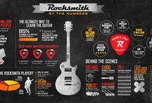 Guitar Infographics / Beautiful infographics concerning everything concerning the guitar and music.
