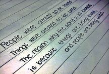 Favorite Quotes / by Stacey Serinsky
