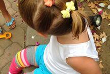Küçük kız saç modelleri
