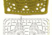 crochet τετραγωνα