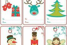 Vánoce - jmenovky