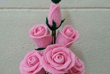 Haken bloemen