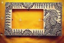 Henna on furniture