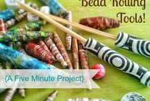 Paper Bead Rolling