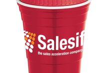 "Red Cups of Summer / What's better for your next corporate event or gathering than an insulated ""Solo"" style drink cup.  With or without lids.  They don't have to be red!  Hundreds of colors and styles.  A favorite of ours offers the ability to ""write your name"" (there is a matte area on the cup) for personalization."