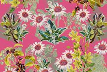 My New Zealand Flora Prints / Vibrant designs digitally reconstructing my watercolours of New Zealand Flora by Jane galloway