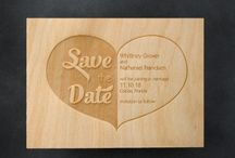 Save The Date / Let your guests know that you have set your Wedding  Date by officially announcing with a Save The Date Card. Especially important for couples marrying on a holiday weekend or during the busy wedding season!