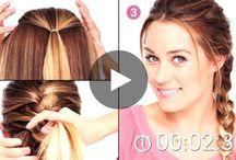 coiffures / comment se coiffer correctement