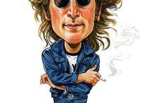 Rock Musician Caricatures