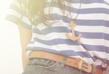 Nautical / I love a nautical theme--whether it is in clothing, jewelry, home decor--I love it all!!!! / by Gail Manna