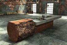 Déco & Meubles en bois / Le bois est une matière noble que nous adorons contempler sous toutes ses formes chez CarréSol ! Très utilisé dans l'univers de la décoration d'intérieur, le bois est une valeur sûre pour rendre un intérieur plus chaud, plus design et convivial !