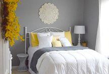 Gray wall room ideas