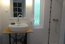 AQDesign /moje realizacje/ - rustykalna łazienka 2